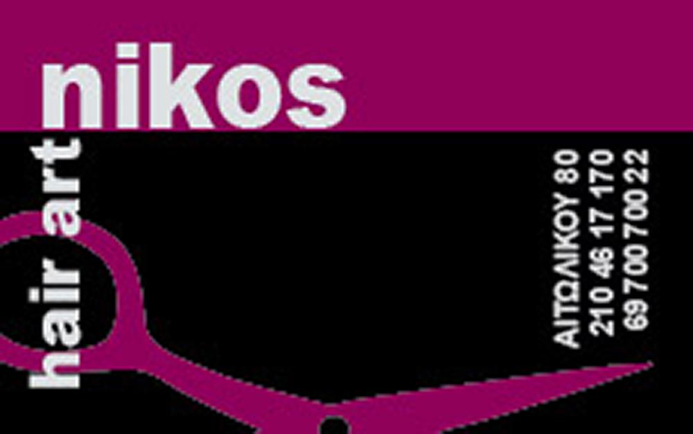 nikos hair art CARD 8X5 01